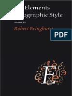 Bringhurst, Robert - The Elements of Typographic Style