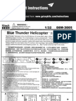 Blue Thunder Helicopter No08M-3005