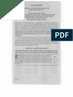 March 26 1996 Measures E F G H I Sample Ballot