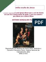 A Família Oculta de Jesus - Antonio Gonçalves Filho