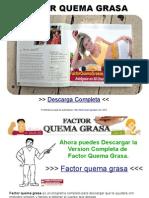 Factor Quema Grasa PDF