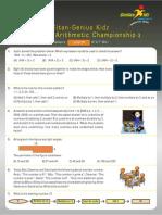 Titan Arithmetic Junior Chamionship_3