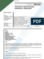 Abnt Nbr 6023 Referências bibliográfica em documentos