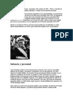 Juan Domingo Perón- RESUMEN