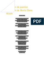 Selección de poesías infantiles de María Elena Walsh