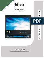 MANUAL COM ESQUEMA AUTO RADIO LCD PHILCO MOD. PCA 610N..pdf