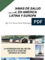 Programa de Salud - Programas en América Latina y Europa