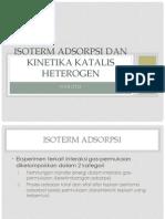Isoterm Dan Kinetika
