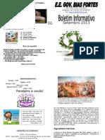Boletim Informativo de Setembro 2013