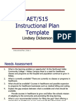lindsey dickerson instrcutional plan