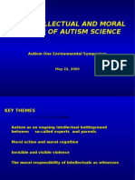 THE INTELLECTUAL AND MORAL FAILURES OF AUTISM SCIENCE
