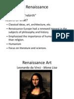 Europe Before Transatlantic Travel Part 2 - Renaissance