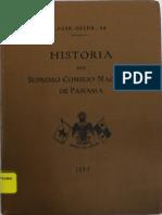 (1934) Historia del Supremo Consejo Nacional de Panamá