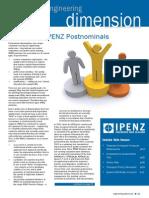 IPENZ Engineers New Zealand Magazine (July 2008, Issue 72)