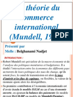 La théorie du commerce international (Mundel, 1957)