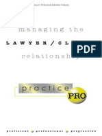 Lawyer Client Relations
