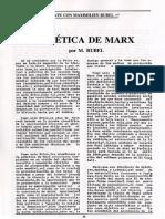 Rubel La ética de Marx