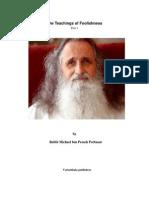 Teachings of Fulishness Kabbalah 1