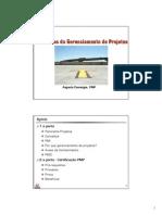 Palestra Bases e Desafios Do Gerenciamento de Projetos