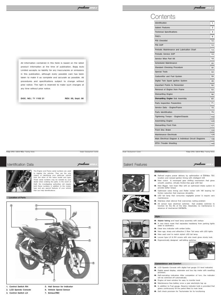 Service manual bajaj pulsar 220 motor oil throttle freerunsca Image collections