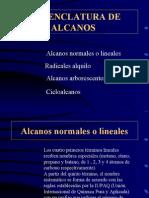 PROPIEDADES ALCANOS