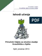 ISHODI_UCENJA_Prirucnik_2012
