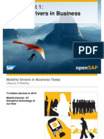 OpenSAP Mobile1 Week 01 Introduction to Mobile Development