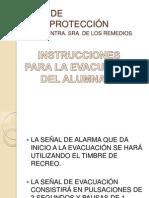 PLAN DE AUTOPROTECCIÓN_INSTRUCCIONES_ALUMNOS