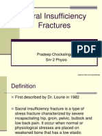 Fracture / Sacral Fracture