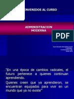 PRESENTACION CURSO ADMINISTRACION
