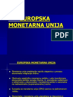 EUROPSKA MONETARNA UNIJA