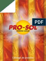 Pro Sol Catalogo