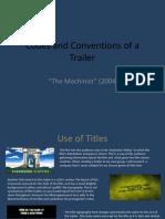 The Machinist Trailer Analysis