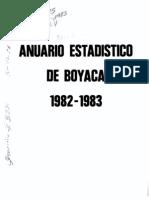 anuario boyacá 1982-1983