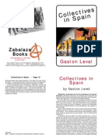 Collectives in Spain (by Gaston Leval)