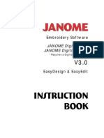 Janome - Digitizer MB - UserManual