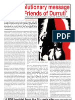 The revolutionary message of the Friends of Durruti