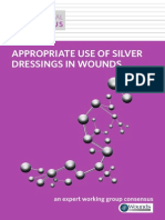 Appropriate Use of Silver Dressings in Wounds