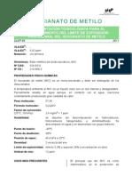DLEP 64 Isocianato de Metilo