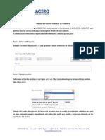 Manual de Usuario Correas