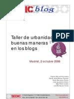 Taller Urbanidad Blogs
