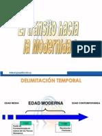 TRANSICIÓN EDAD MODERNA FORM II A B