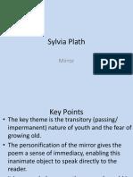 sylvia plath - mirror
