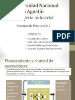 Planeamiento y Control de Operaciones....CAP 1 SP