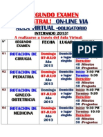 13.Fechas de Examenes 2do.3ro.y 4to.internado 2013