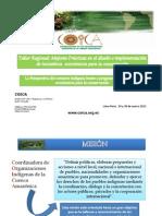 Perspectiva Contexto Indigena Frente a Programas de