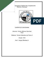 superficie gaussiana