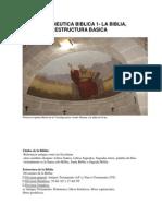 HERMENEUTICA BIBLICA 1