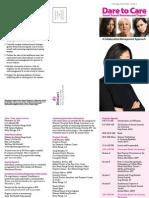 Dare to Care Conference Brochure