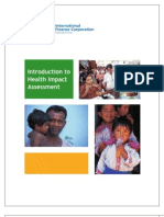 Introduction to Health Impact Assessment (April 2009)